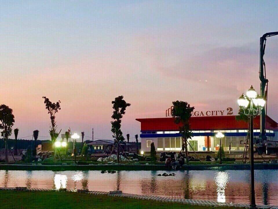 Hình ảnh công viên 2ha dự án Mega City 2