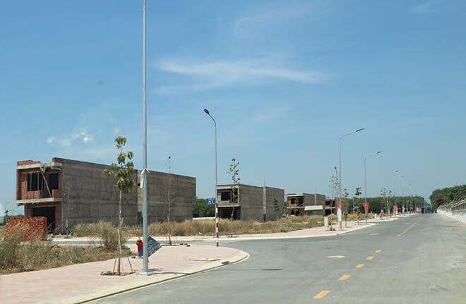New Times City đã hoàn thiện hạ tầng, sổ đỏ đã ra riêng từng nền và có nhiều cư dân đang bắt đầu xây dựng nhà ở