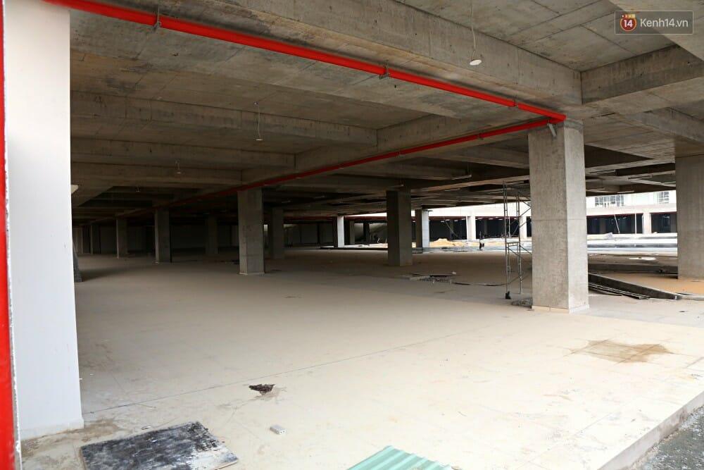 Các hạng mục của công trình bến xe Miền Đông mới đang trong quá trình xây dựng và hoàn thiện.