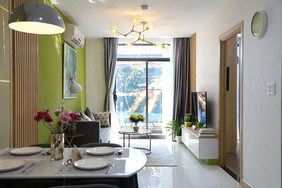 Các căn hộ của The EastGate được thiết kế hiện đại, tối ưu hóa không gian sử dụng