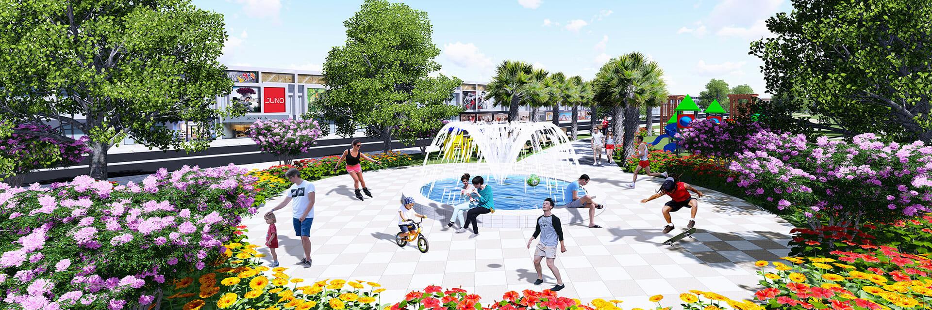 Khu đô thị Dự án Bến Cát Center City 2 Bình Dương