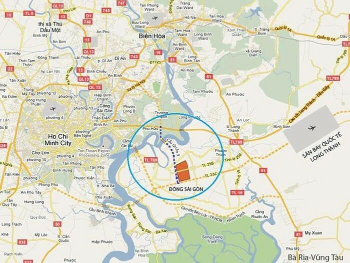 Dự án cầu đường quận 9 sang Nhơn Trạch sẽ thúc đẩy phát triển kinh tế tỉnh Đồng Nai. Ảnh: NL