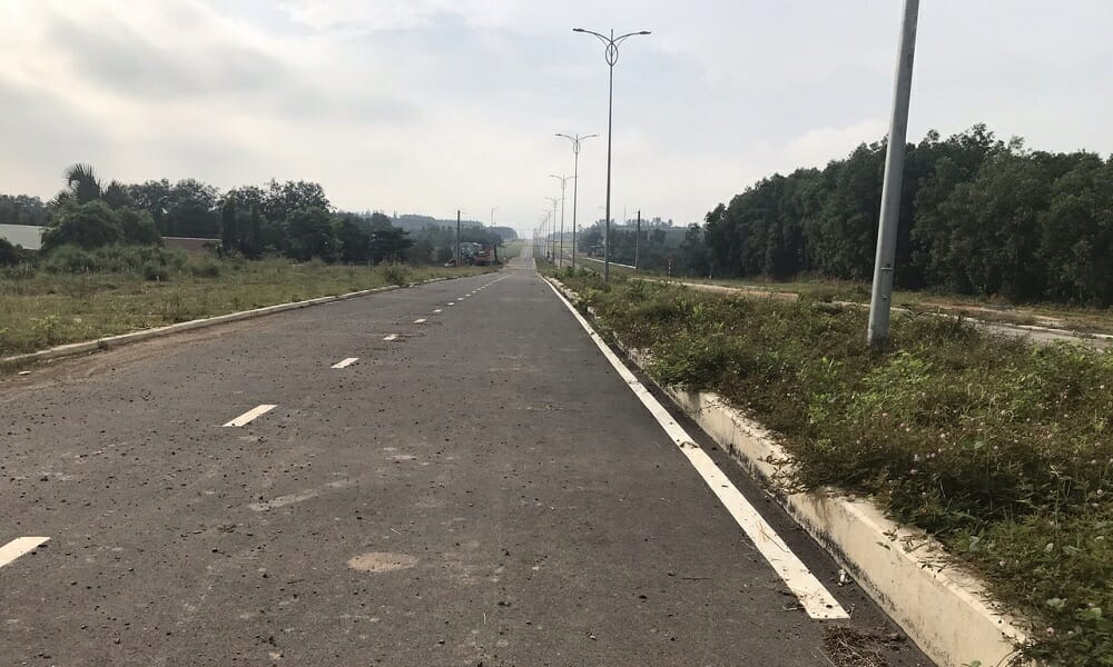 Đường Bắc Sơn Long Thành rộng 60m đã thông gần tới dự án Golden 3