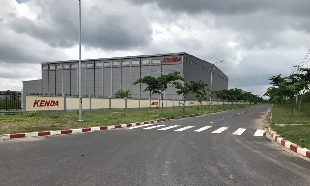 Nhà máy kenda trong khu công nghiệp Giang Điền