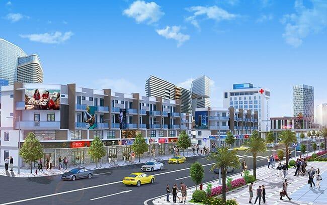 Phối cảnh dự án khu đô thị dự án Singa City Quận 9 của Kim OAnh group