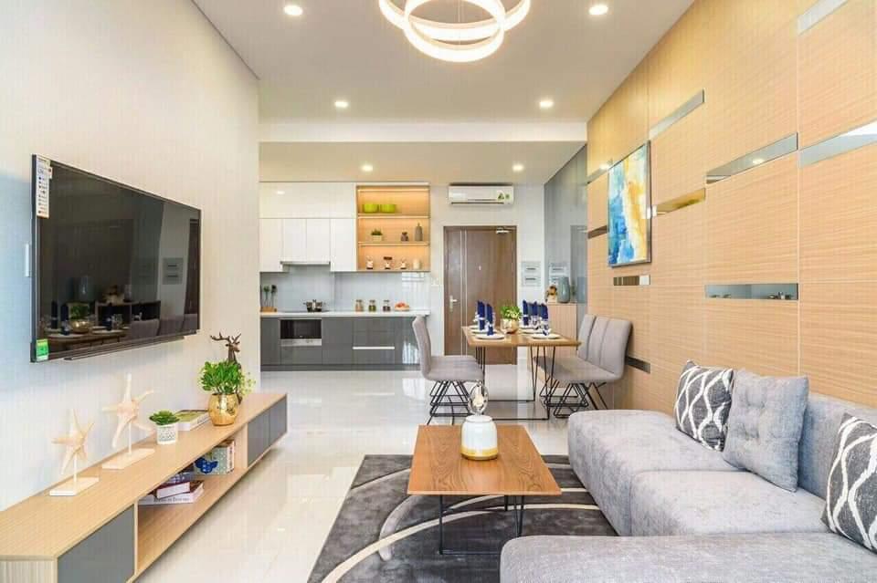 Nội thất phòng khách căn hộ dự án The East Gate
