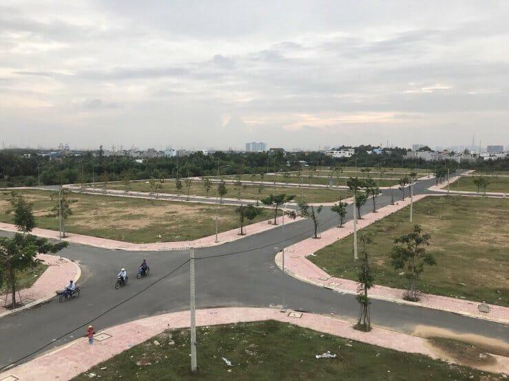 hình ảnh thực tế dự án singa city quận 9