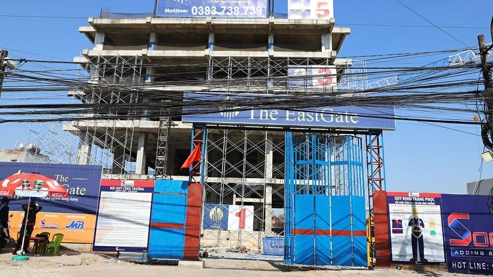 Tiến độ cập nhật dự án The East Gate 02/2019
