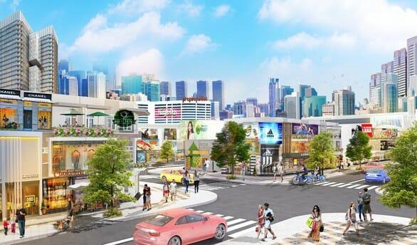 Trung tâm thương mại đa chức năng khu đô thị Cát Linh sẽ là nơi du khách, người dân đến trải nghiệm mua sắm, vui chơi giải trí