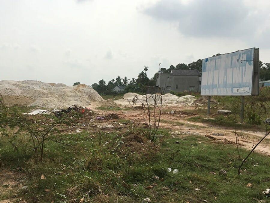 Dự án Khu dân cư Hòa Lân bị bỏ hoang đã mấy năm nay, do chưa được triển khai