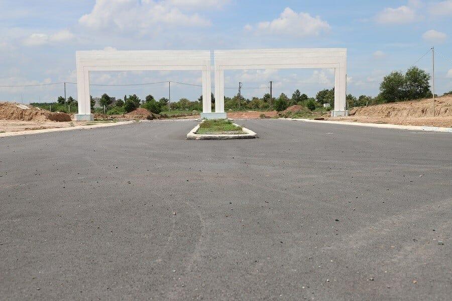 cổng chào mega city 2