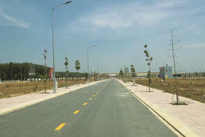 New Times City đã hoàn thiện toàn bộ hạ tầng và có sổ đỏ riêng từng nền