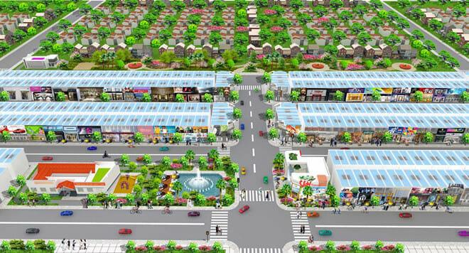Phối cảnh dự án New Times City ngay trung tâm thị xã Tân Uyên