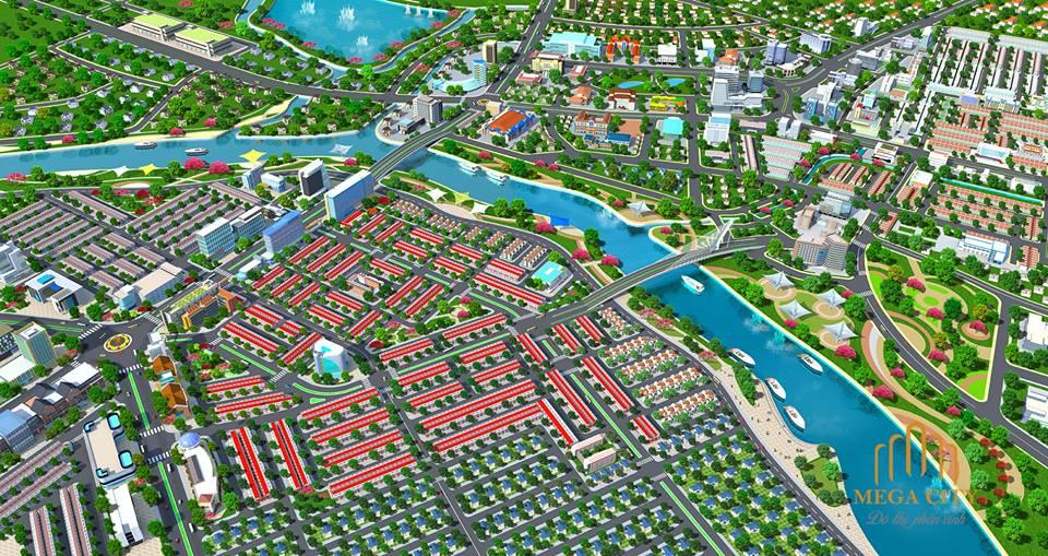Khu đô thị Dự án Mega City Cầu Đò – Bến Cát Bình Dương