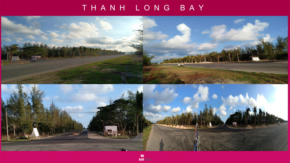 Hình ảnh thực tế Dự án Thanh Long Bay