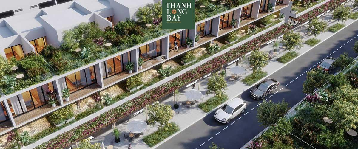 Phối cảnh Khu Shophouse Thanh Long Bay Bình Thuận