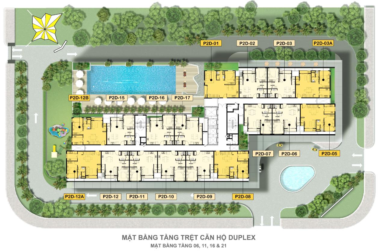 Mat Bang Can Ho Can Ho Duplex