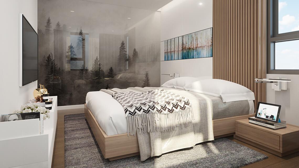 Thepegasuite2 Final Duplex Bedroom