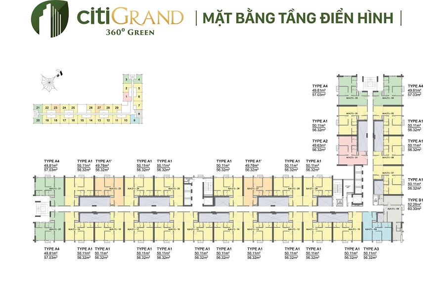 Mat Bang Tang Du An Can Ho Citigrand Quan 2