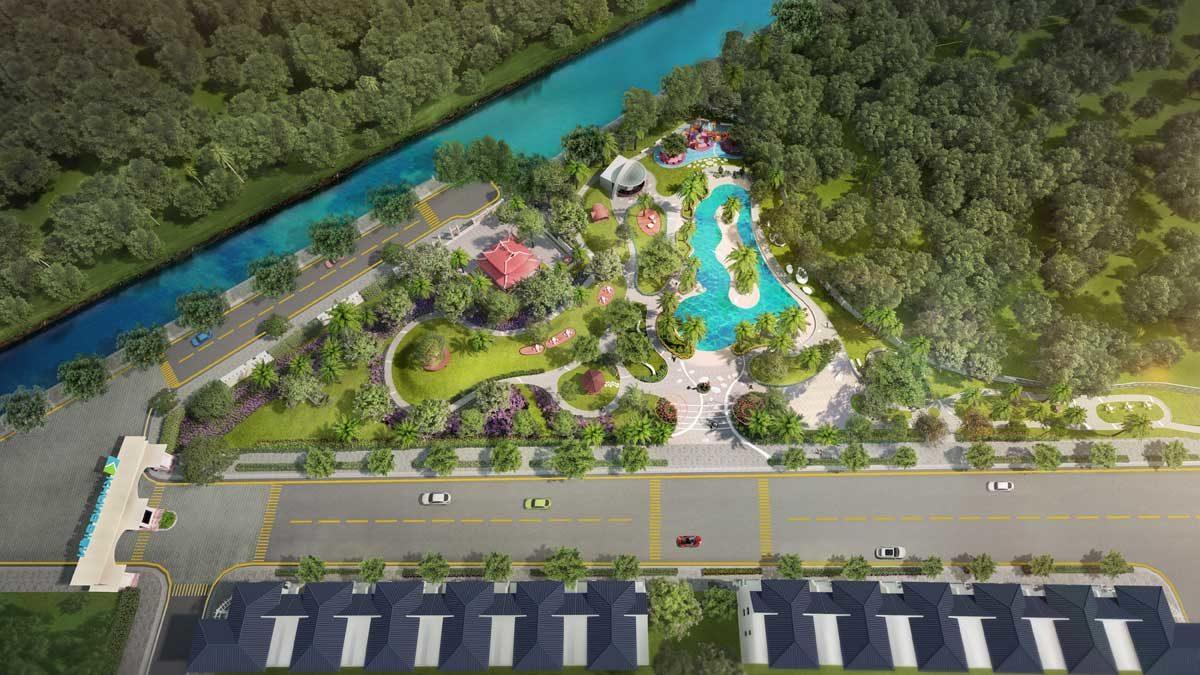 Khu Cong Vien Doc Song Du An Verosa Park
