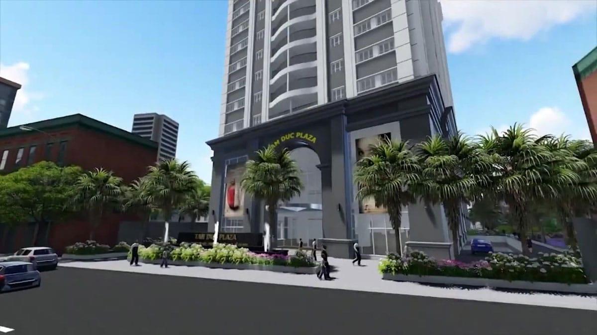 Khu Trung Tam Thuong Mai Du An Tam Duc Plaza
