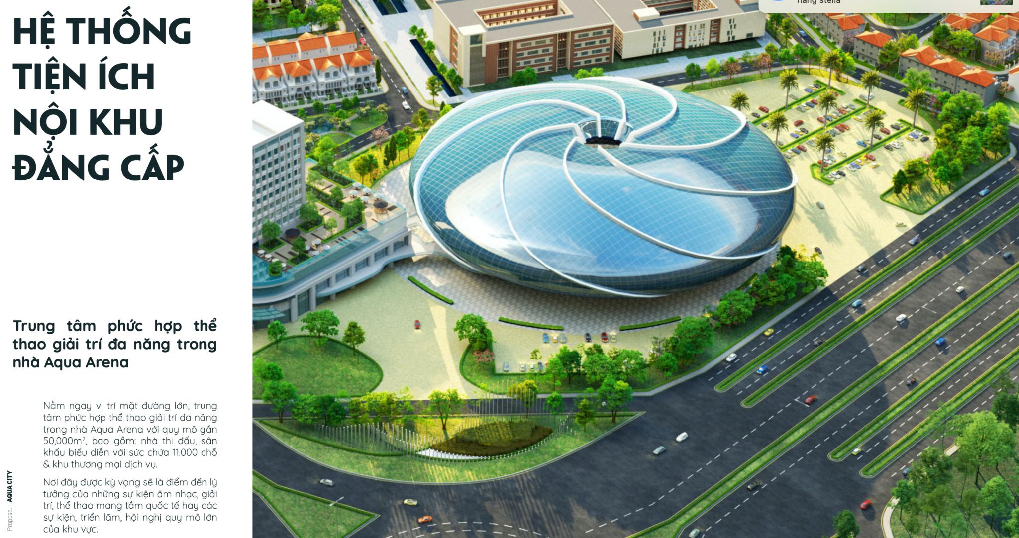 Hệ Thống Aqua Arena Đẳng Cấp