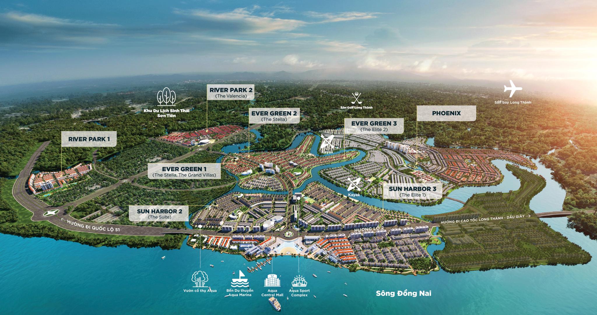 Khu Đô Thị Aqua City Novaland Biên Hòa Đồng Nai