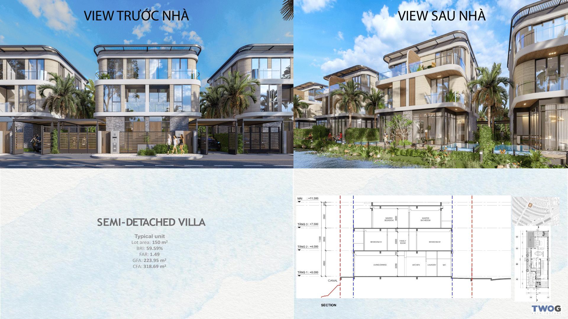 Semi Detached Villa Venezia